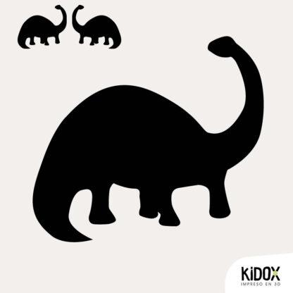 Parches divertidos para niños, para planchar. Con forma de dinosaurio