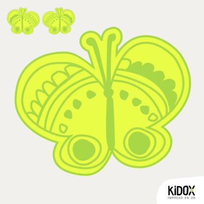 Parche para la ropa con forma de mariposa, planchar y listo. Repara o decora la ropa de una manera divertida y dale un look diferente. Planchar y listo.