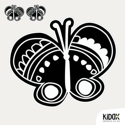 Rodilleras para la ropa con forma de mariposa, planchar y listo. Repara o decora la ropa de una manera divertida y dale un look diferente. Planchar y listo.