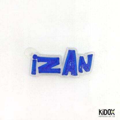 llaveros identificadores, impresos en 3D