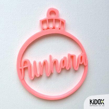 Adornos de Navidad personalizados. Kidox, impreso en 3D