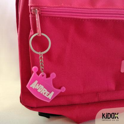 KIDOX, impreso en 3D. Llaveros identificadores personalizados, impresos en 3D