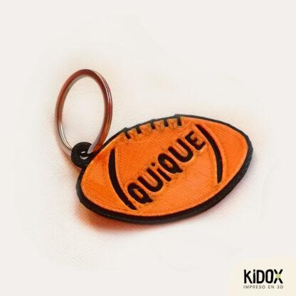 KIDOX, impreso en 3D. Llaveros identificadores, impresos en 3D
