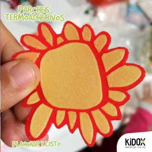 Parche termoadhesivo para niños divertido y resistente