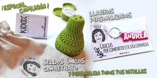 Detalles personalizados para la Comunión impresos en 3D